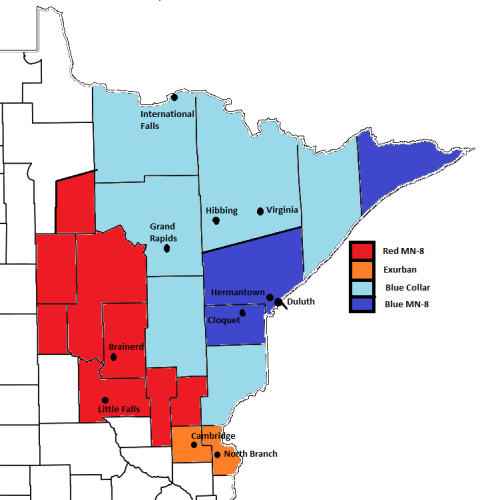 MN 8 Districts